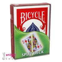 Karte Bicycle SPLIT deck 08270