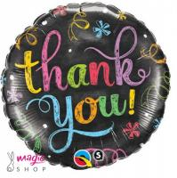 Balon THANK YOU folija 45 cm