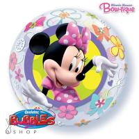 Bubble balon Minnie miška