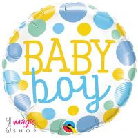 Balon BABY BOY pike 43 cm