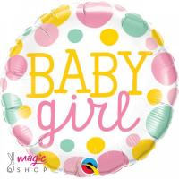 Balon BABY GIRL pike 43 cm