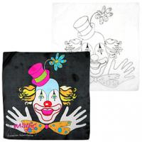 Clown silk set 45x45 cm