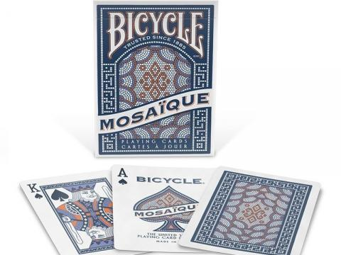 Karte Bicycle MOSAIQUE