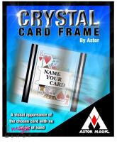 Crystal card case by Astor